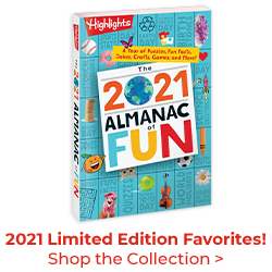 Our 2021 Almanac of Fun is here – shop all limited editions now!