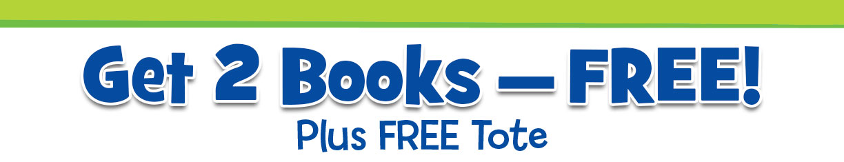 Get 2 books free, plus a free tote bag with your order!