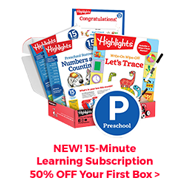 Support learning from home with our new 15-minute learning subscription box – get 50% off now!