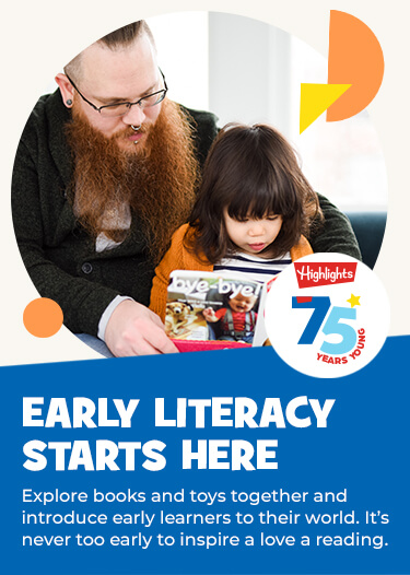 Encourage exploration through stories and spark a lifetime love of reading and learning. It's never too early to start.