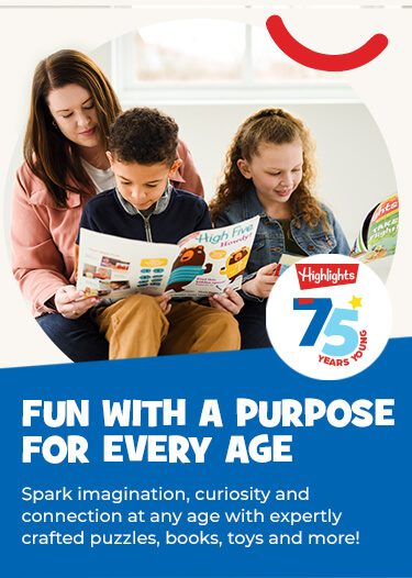 Discover Fun with a Purpose together and spark imagination, curiosity and connection! Explore expertly crafted puzzles, books, toys and more for all ages.