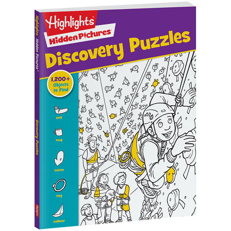 Hidden Pictures Discovery Puzzles