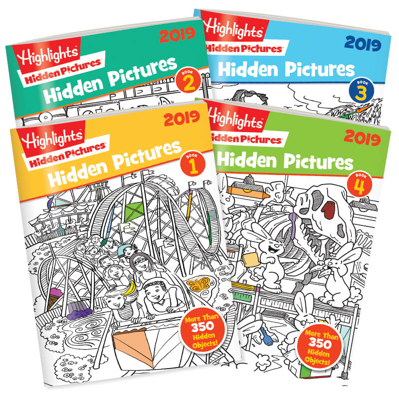 Hidden Pictures® 4-Book Sets are customer favorites, year after year.