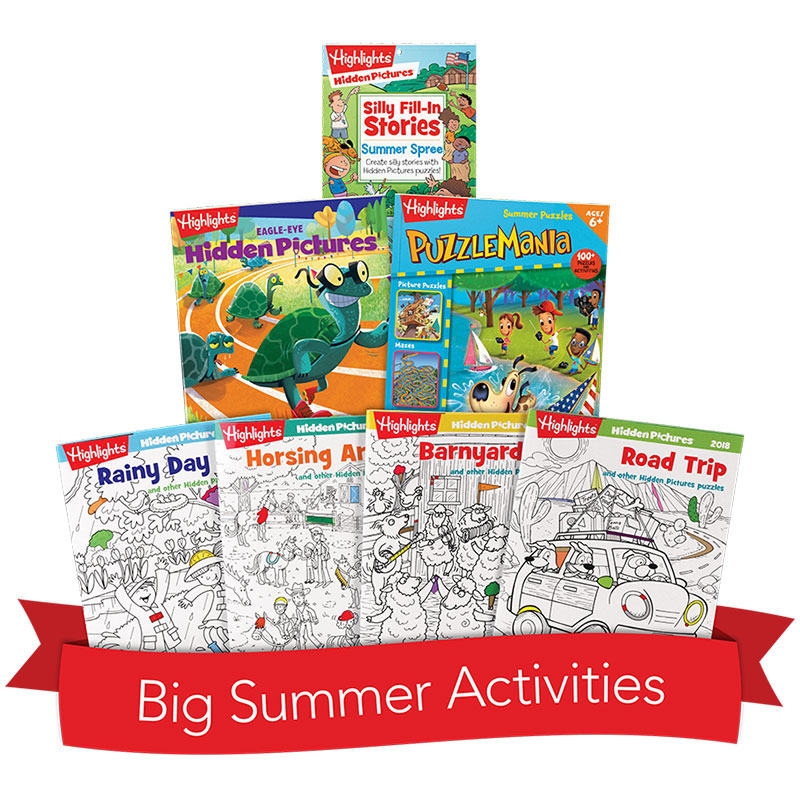 Big Summer Activity Box