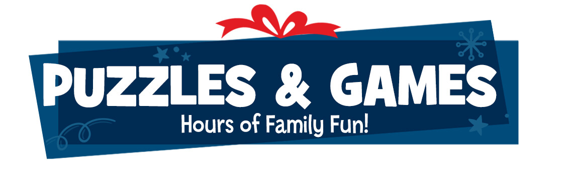 Highlights puzzles and games are hours of family fun!