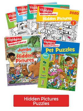 How many will you find? Everyone loves Hidden Pictures puzzles!