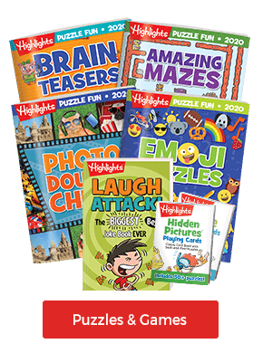 Our puzzles and games are fun for the whole family!