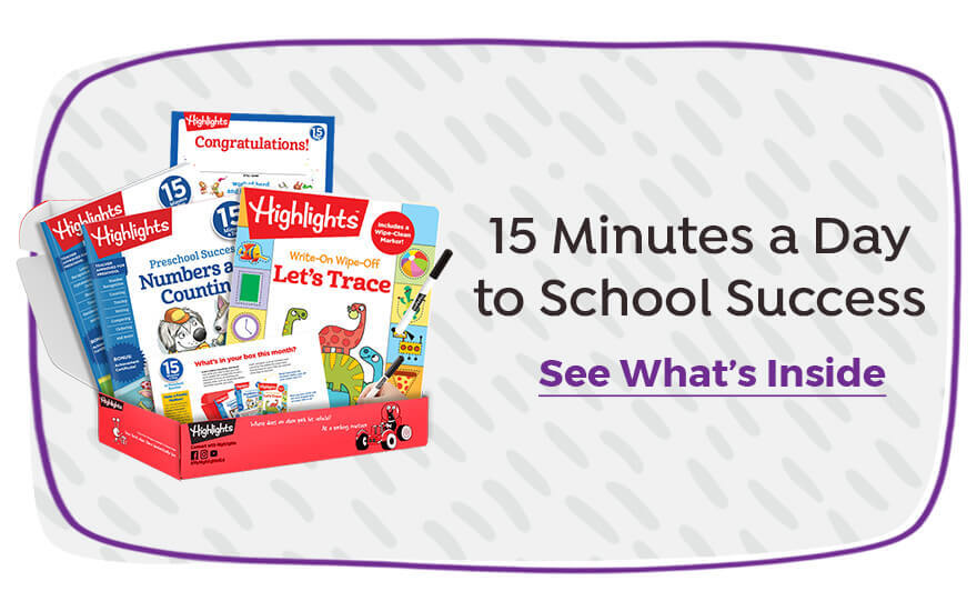 15 Minutes a Day to School Success subscription boxes support learning at home.