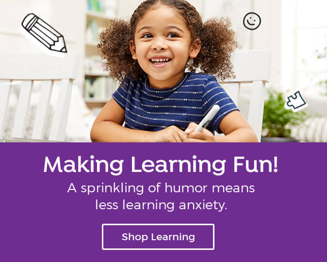Highlights Learning is a simple way to give them confidence and support school skills at home.