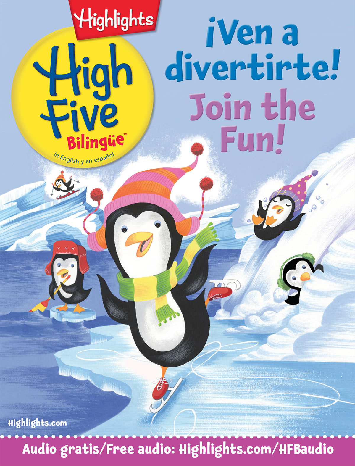 High Five Bilingüe™ is the perfect magazine in English and Spanish for kids