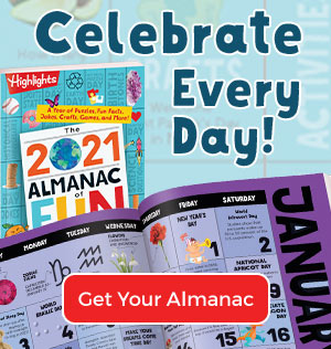 Find new fun to celebrate every day – get your Almanac of Fun today!