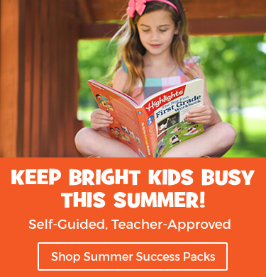Keep bright kids busy this summer with Highlights Learning.