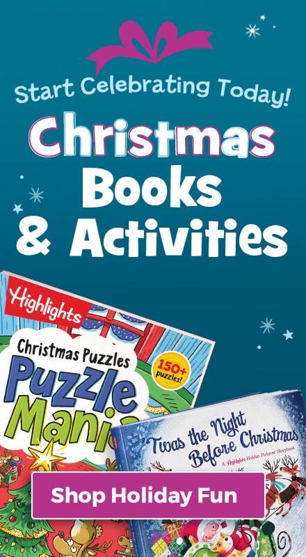 Start celebrating today with the Christmas books and activities in our Holiday Fun collection!