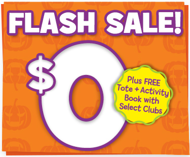 $0 Flash Sale + FREE Book and Tote