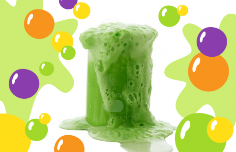 experiment with slime