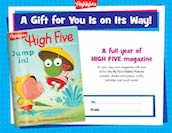 High Five Printables