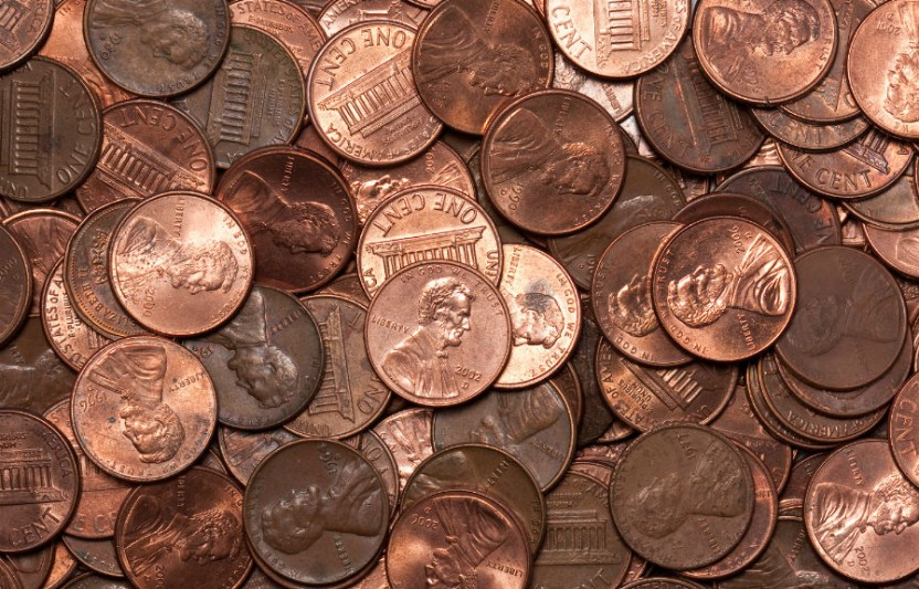 Cleaning penny experiment