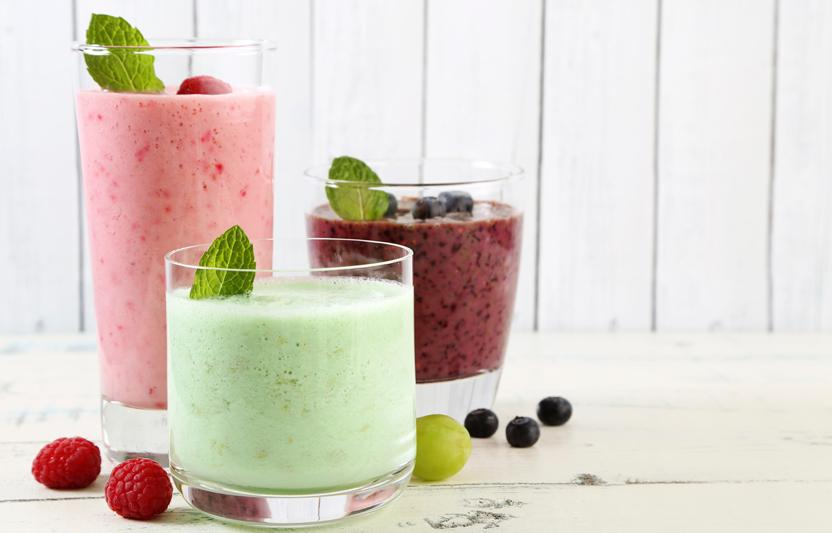 Go for the green—or pink, or purple, or yellow—with these homemade puréed potables. We've got two versions. Try both!