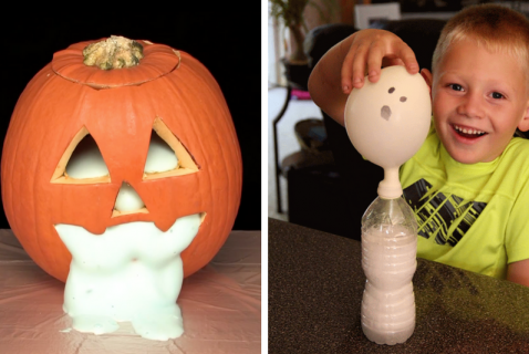 6 Spooky Science Experiments