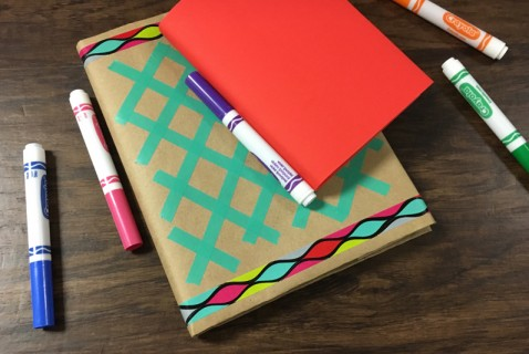 DIY Decorated Book Covers