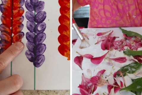Ring in spring with these bright and colorful flower crafts!