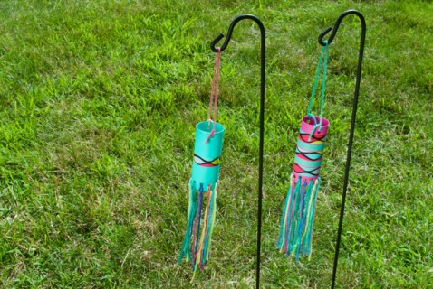 Ideal for summer breezes, this wind sock is easy and fun to make.