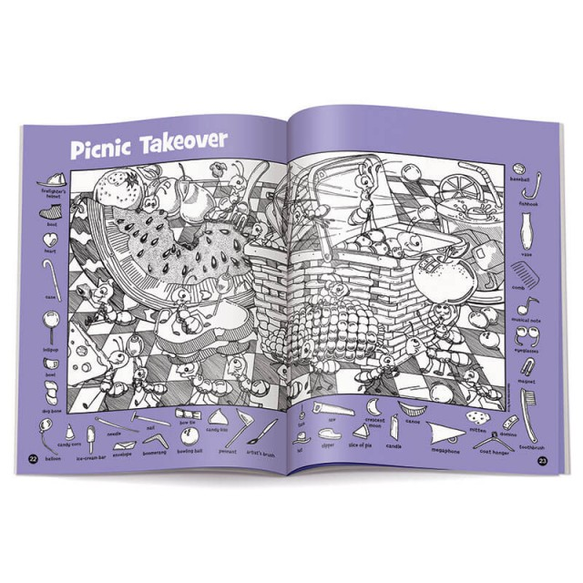 Two-page Picnic Takeover puzzle
