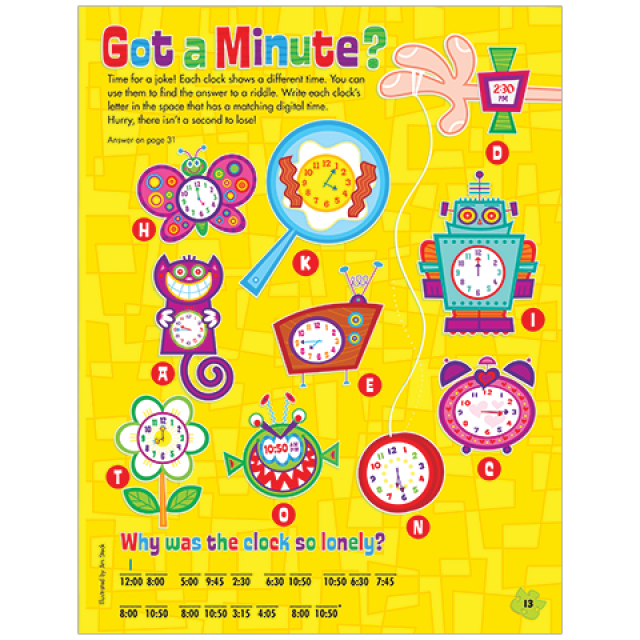 Got a Minute? Time Puzzle