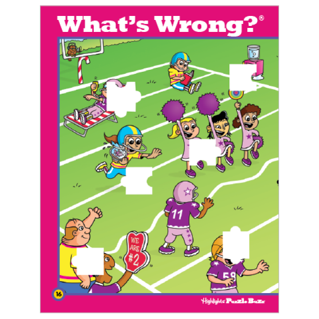 What's Wrong? Puzzle