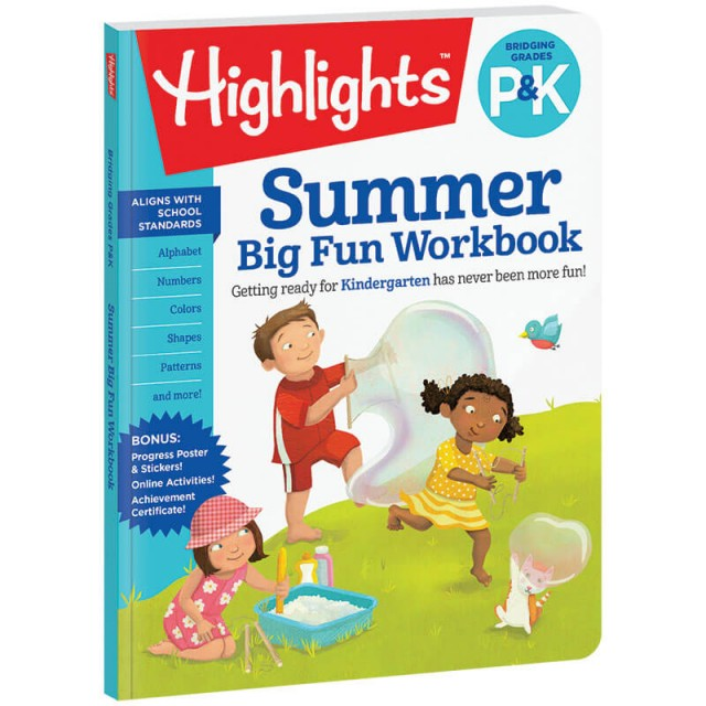 Bridging P and K Summer Workbook
