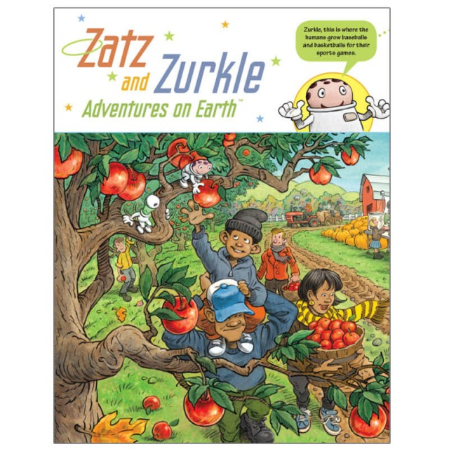 Recurring characters Zats and Zurkle bring a different perspective to familiar objects.