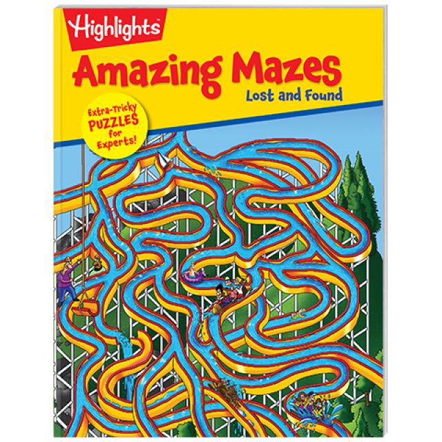 Amazing Mazes Lost and Found