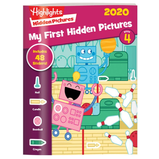 My First Hidden Pictures 2020 4-Book Set Page 17