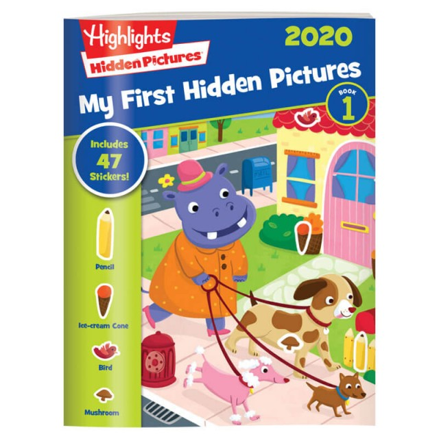 My First Hidden Pictures 2020 4-Book Set Page 2