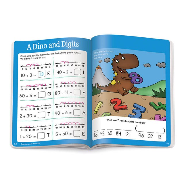 A lesson about doing addition with a number line