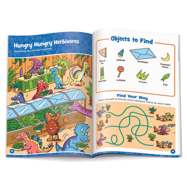 Hungry Hungry Herbivores puzzle and maze puzzle