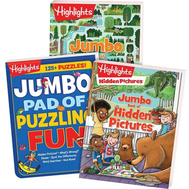 Jumbo Books Collection includes 3 books