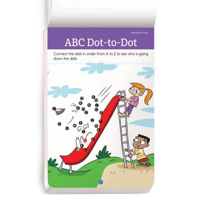 A dot-to-dot puzzle