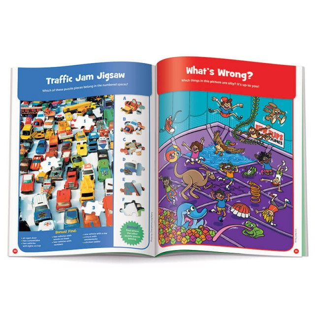 Traffic Jam Jigsaw puzzle and What's Wrong scene