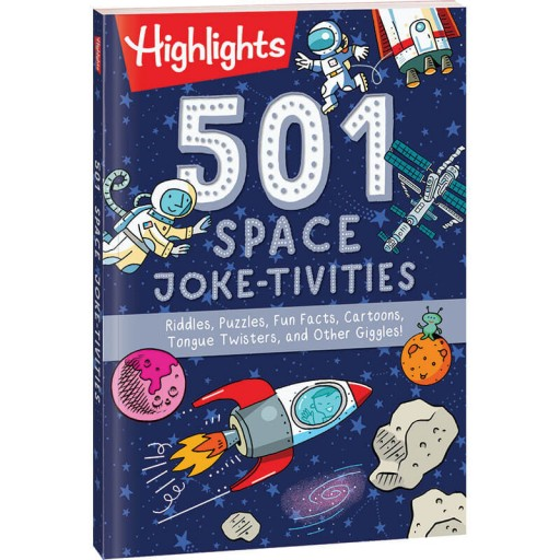 501 Space Joke-tivities book