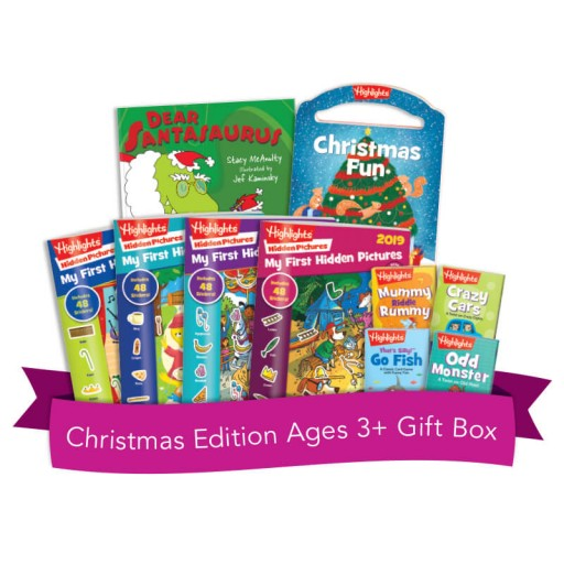 Christmas Edition Ages 3+ Gift Box