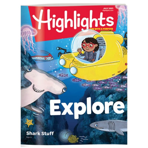 Highlights Magazines Cover