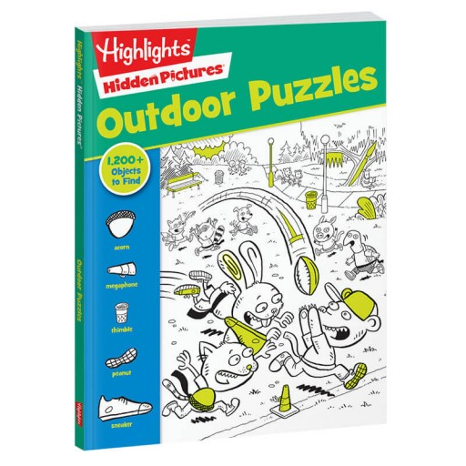 Hidden Pictures Favorites: Outdoor Puzzles book