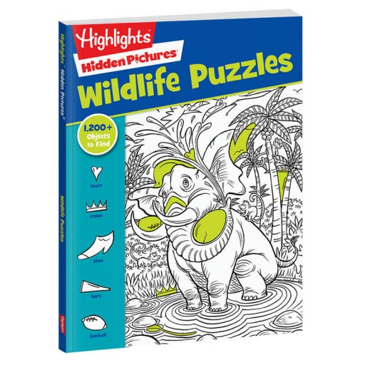Hidden Pictures Favorites: Wildlife Puzzles book