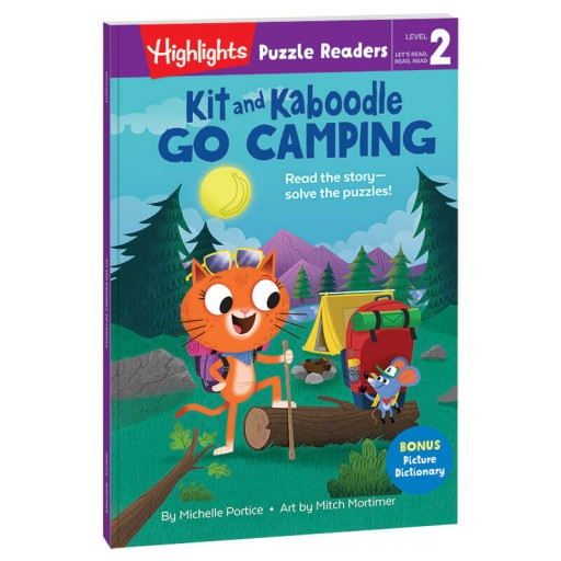 Highlights Puzzle Readers: Kit and Kaboodle Go Camping book