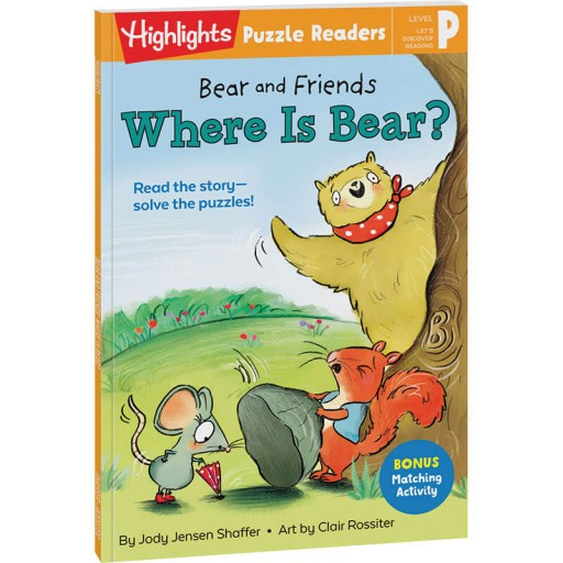 Bear and Friends: Where Is Bear?