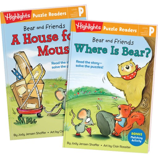 Bear and Friends: A House for Mouse and Where Is Bear?