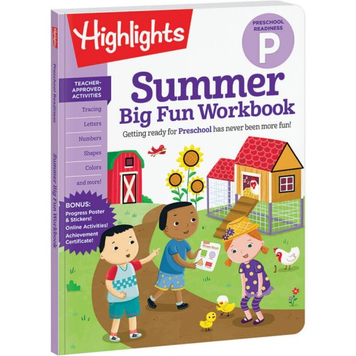 Summer Big Fun Workbook: Preschool Readiness