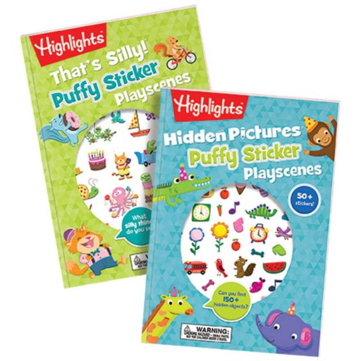 Puffy Sticker Books