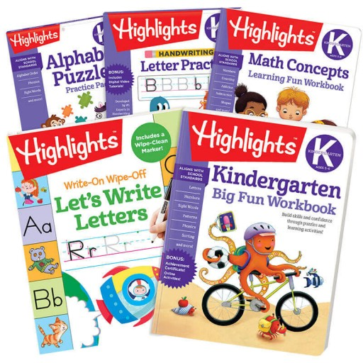 Kindergarten School Success Pack